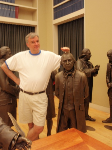 Dr. Fea with James Madison