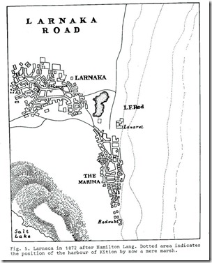 Larnaka_19th Century Traveler's Maps_1