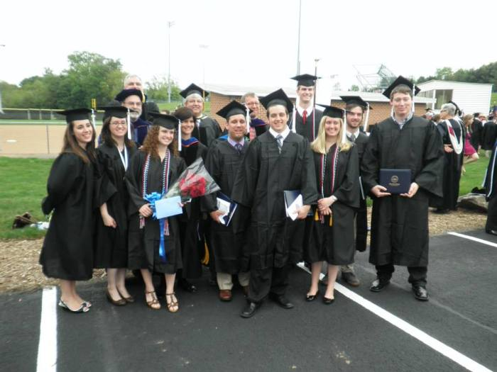 The Messiah College History class of 2013